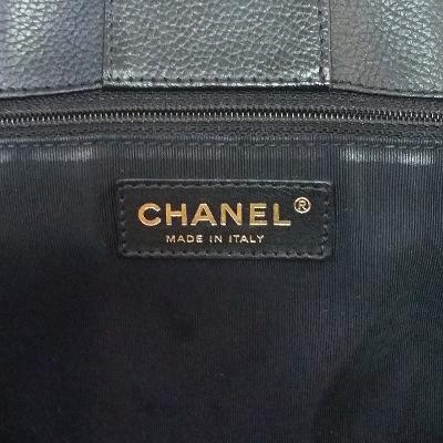 basic logo tote bag black 2